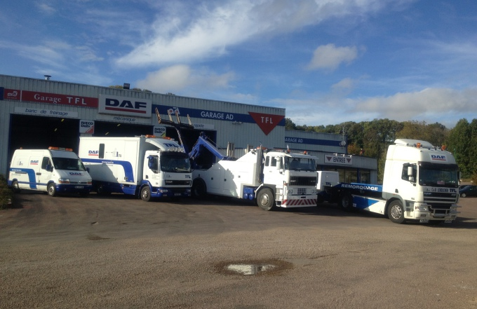 T f l la competition camion cross for Garage qui s occupe de la carte grise